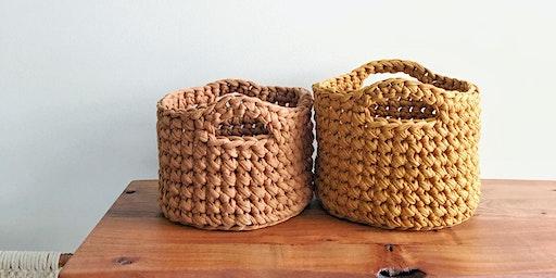 Crochet Basket Workshop