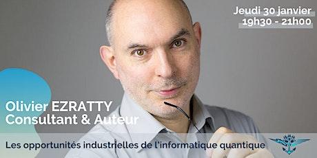 Conférence Olivier EZRATTY tickets