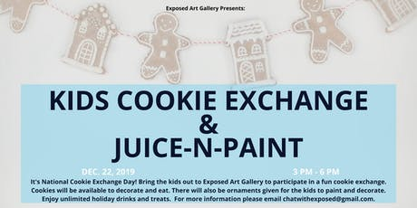 Kid's Cookie Exchange at Exposed tickets