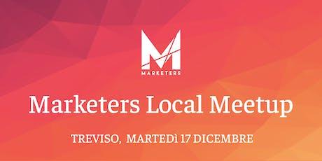 Marketers Meetup Treviso | 17.12.19 biglietti