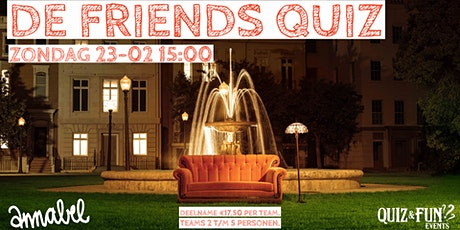 De Friends Quiz | Rotterdam tickets