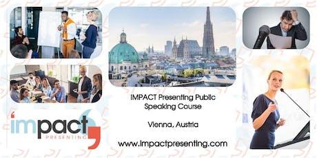 2-Day Vienna IMPACT Presenting - Public Speaking Class tickets
