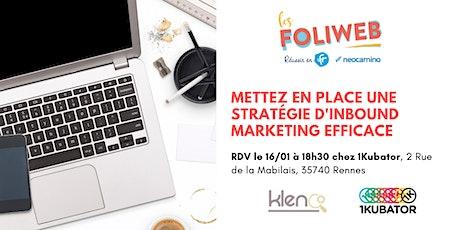 [Rennes] Mettez en place une stratégie d'inbound marketing efficace billets