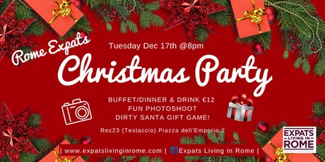 Rome Expats:Christmas Party! Photo Booth & Dirty Santa Game tickets