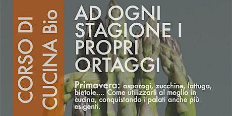 Corso di cucina naturale vegetariana con degustazione: la Primavera biglietti