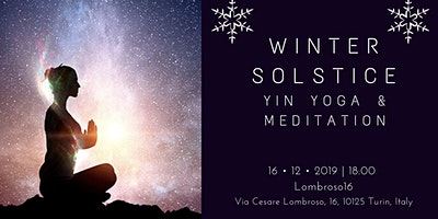 Winter Solstice Yin yoga & meditation