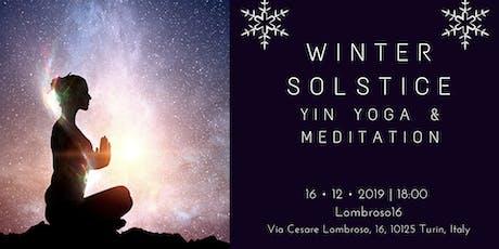 Winter Solstice Yin yoga & meditation biglietti