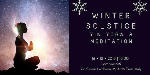 Winter Solstice Yin yoga & meditation