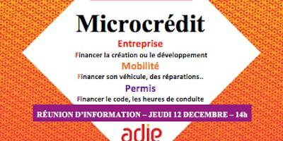 Information collective sur le microcrédit
