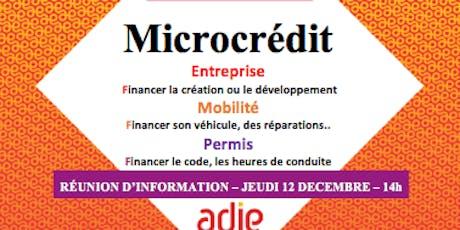 Information collective sur le microcrédit billets