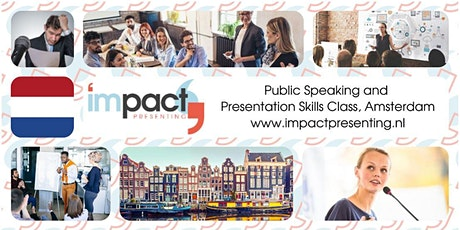 2-Day Amsterdam IMPACT Presenting - Public Speaking Class tickets