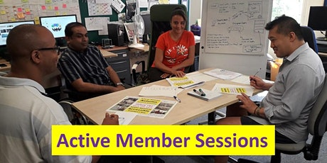 Active Member Session - Thu  27th Feb 2020 tickets