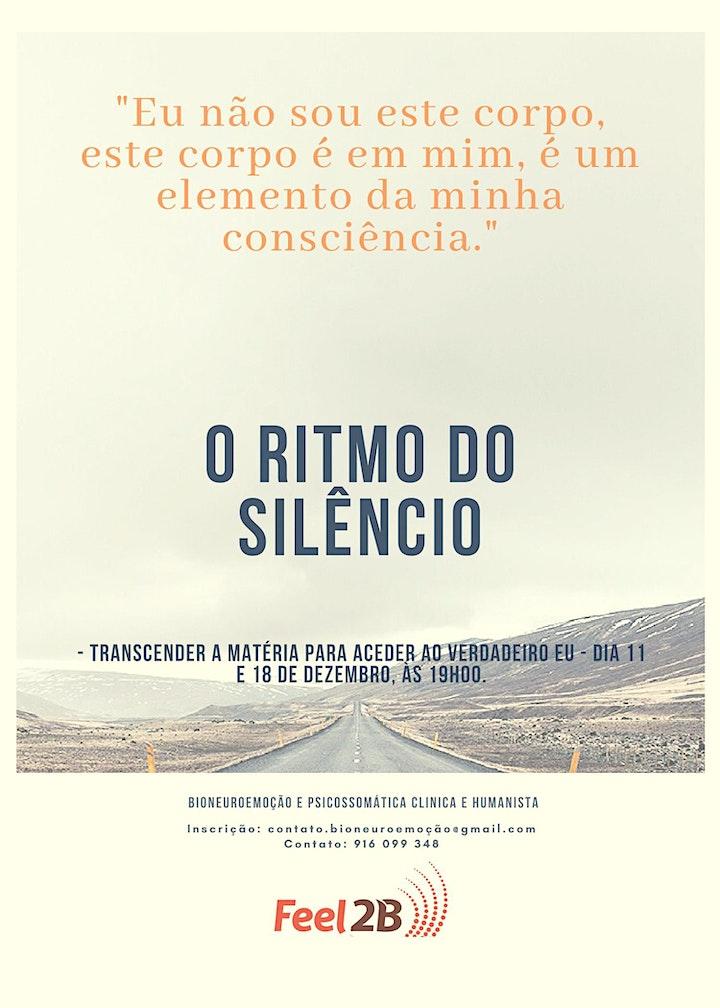 imagem O Ritmo do Silêncio - despertar o verdadeiro SER.