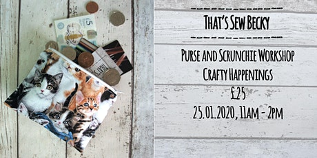 Purse and Scrunchy making workshop tickets