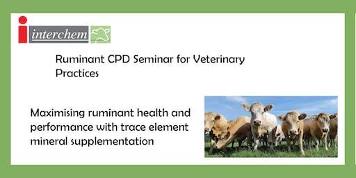 Interchem Ruminant Trace Element CPD Event Mayo