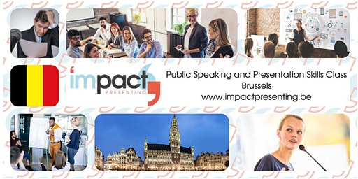 2-Day Brussels IMPACT Presenting - Public Speaking Class