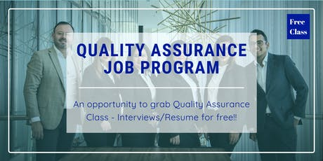 Quality Assurance Certification with a free QA class tickets