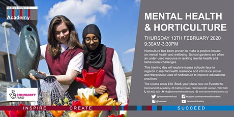 Mental Health and Horticulture tickets