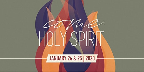 """Come, Holy Spirit"" Conference 2020 tickets"