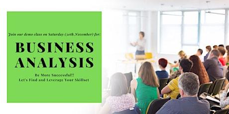 Business Analysis Job Program : Become a BA Certified tickets