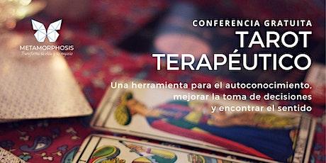 Conferencia Gratuita Tarot Terapéutico entradas