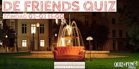 De Friends Quiz | Waalwijk tickets