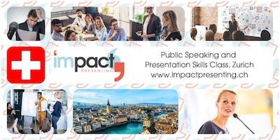 2-Day Zurich IMPACT Presenting - Public Speaking Class