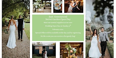 Wedding Open Day - Sunday 9th February 2020. Venue, Suppliers and Catering