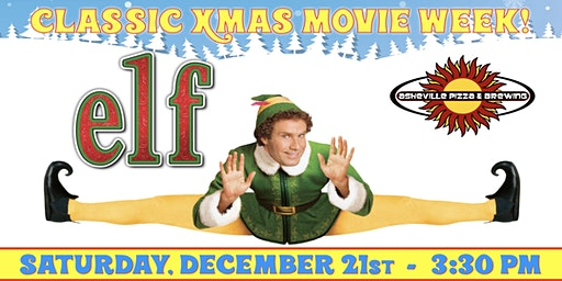 ELF -- Saturday, Dec. 21st at 3:30 pm