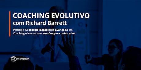 Coaching Evolutivo com Richard Barrett 2020 bilhetes