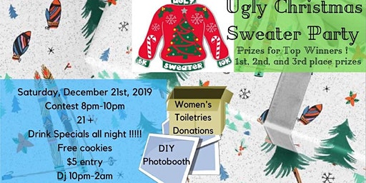 Ugly Christmas Sweater Party Downtown
