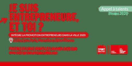 Prêt à te lancer ?  Accélère ton projet entrepreneurial ! billets