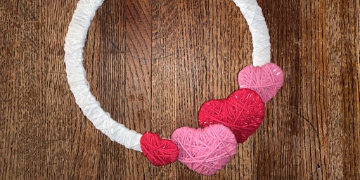 Creative Family Workshop: Yarn Heart Wreath