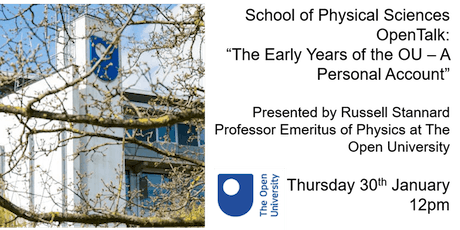 The Early Years of the Open University: A Personal Account tickets