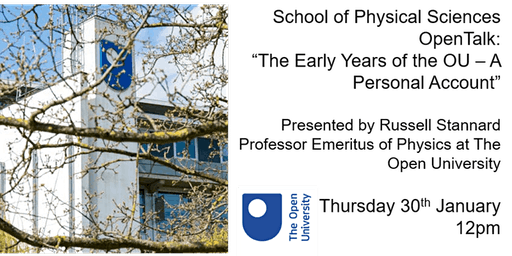 The Early Years of the Open University: A Personal Account