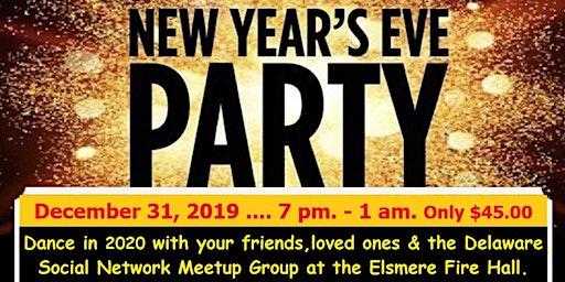 Dance in 2020 w/ Meetup @ Elsmere Fire Company, $45.00 incl: Open bar & ...