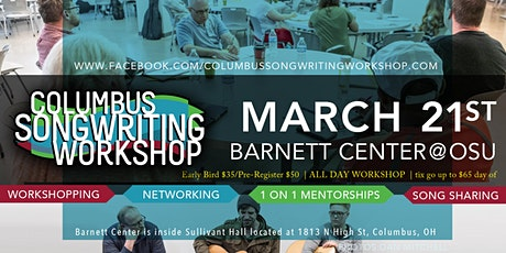 Columbus Songwriting Workshop tickets
