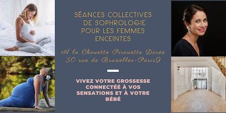 Séances collectives de sophrologie pour une grossesse sereine - Paris 9 billets