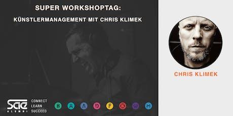Music Business - Super Workshoptag: Künstlermanagement mit Chris Klimek Tickets