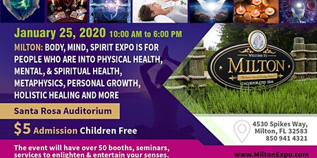 Milton: Body, Mind, and Spirit Expo 2020 tickets