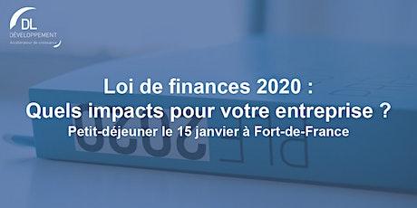 Loi de Finances 2020, quels impacts pour votre entreprise ? billets