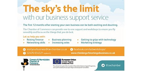 Stratford-Business Planning (Session 3/3) tickets