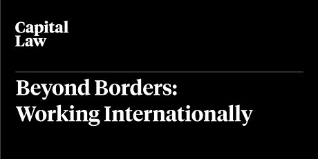 Beyond Borders: Working Internationally tickets