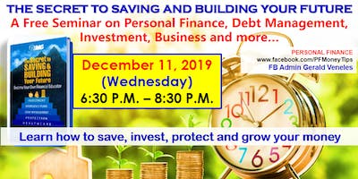 Free Investment Seminar: Saving and Building Your