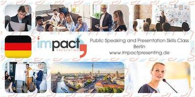 2-Day Berlin IMPACT Presenting - Public Speaking Class