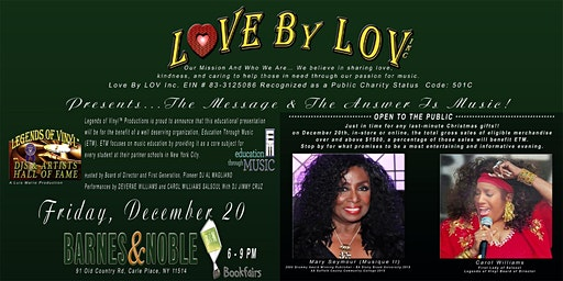 Love By LOV Presents The Message & The Answer Is Music!