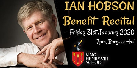 Ian Hobson Benefit Recital for KHVIII School tickets