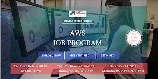 AWS - Job Program : Free Demo Class