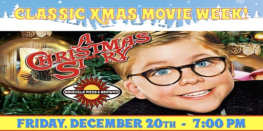A CHRISTMAS STORY -- Friday, Dec. 20th at 7:00 pm