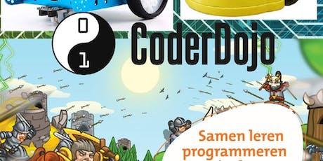 Coderdojo: werkplaats voor programmeren tickets